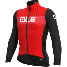 Alé Cycling PR-S Logo DWR Longsleeve Jersey Heren, red/black